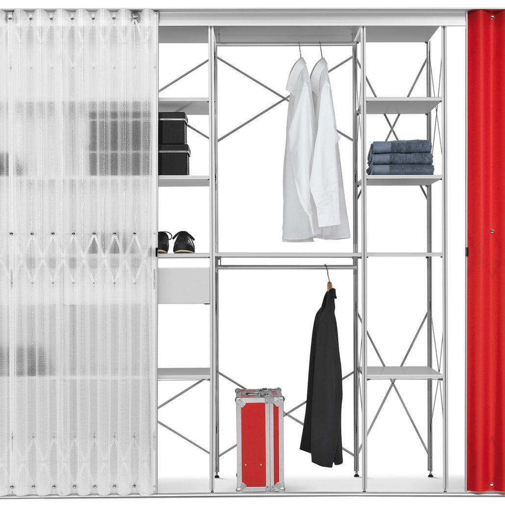 kleider regalsystem good systemregal with kleider. Black Bedroom Furniture Sets. Home Design Ideas